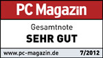 Testlogo PC Magazin - Canon EOS 5D Mark III - sehr gut