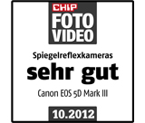 Testlogo Chip Foto Video - Canon EOS 5D Mark III - sehr gut