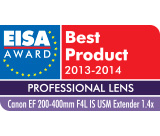 Testlogo EISA Awards 2013-2014